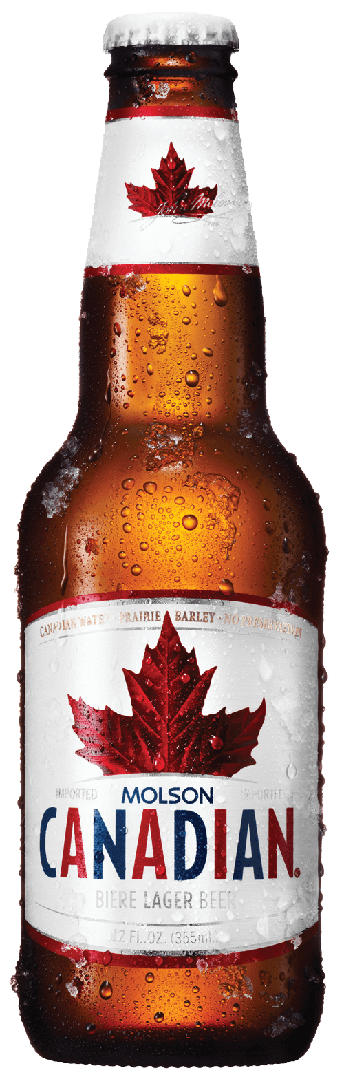 Molson Canadian Beer Bottle